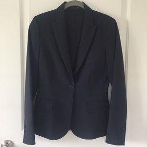 0d35a6aca8 Theory Jackets & Coats | Essential One Button Stretch Wool Blazer ...